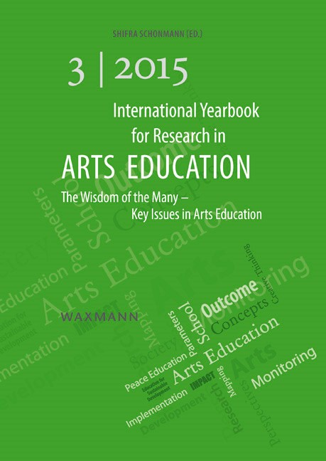 International Yearbook for Research in Arts Education 3/2015   Schonmann, 2015   Buch (Cover)