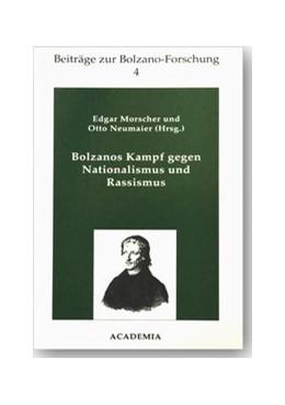 Abbildung von Morscher / Neumaier | Bolzanos Kampf gegen Nationalismus und Rassismus | 1996