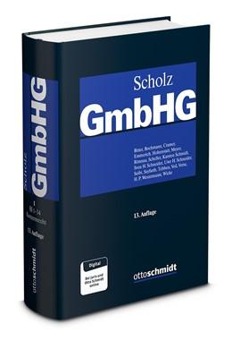 Abbildung von Scholz (Hrsg.) | GmbHG, Band 3: §§ 53-85 | 11., neu bearbeitete und erweiterte Auflage | 2015