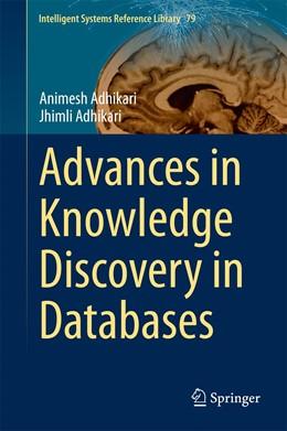 Abbildung von Adhikari | Advances in Knowledge Discovery in Databases | 2015 | 79
