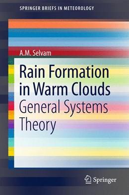 Abbildung von Selvam   Rain Formation in Warm Clouds   1. Auflage   2015   beck-shop.de
