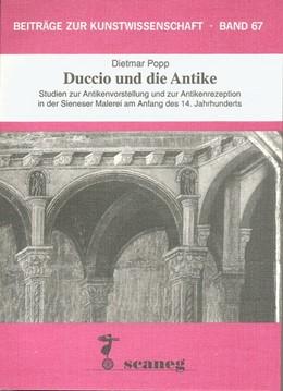 Abbildung von Popp | Duccio und die Antike | 1996 | Studien zur Antikenvorstellung...