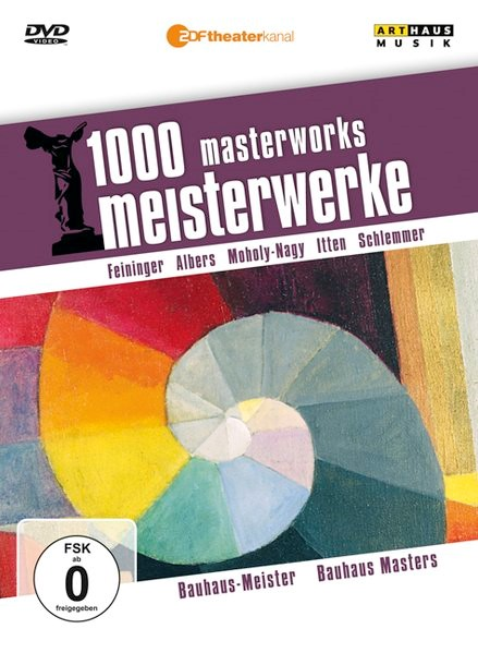 1000 Meisterwerke: Bauhaus-Meister / 1000 Masterwors Bauhaus Masters, 2009 (Cover)