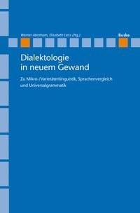 Dialektologie in neuem Gewand | Abraham / Leiss, 2013 | Buch (Cover)