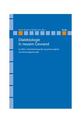 Abbildung von Abraham / Leiss | Dialektologie in neuem Gewand | 2013 | Zu Mikro-/Varietätenlinguistik... | 19