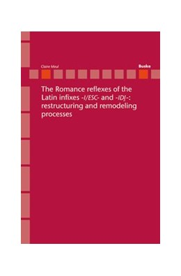 Abbildung von Meul | The Romance reflexes of the Latin infixes -I/ESC- and -IDI-: restructuring and remodeling processes | 2013 | 20
