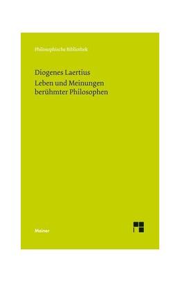 Abbildung von Diogenes Laertius / Reich / Zekl   Leben und Meinungen berühmter Philosophen   2015   674