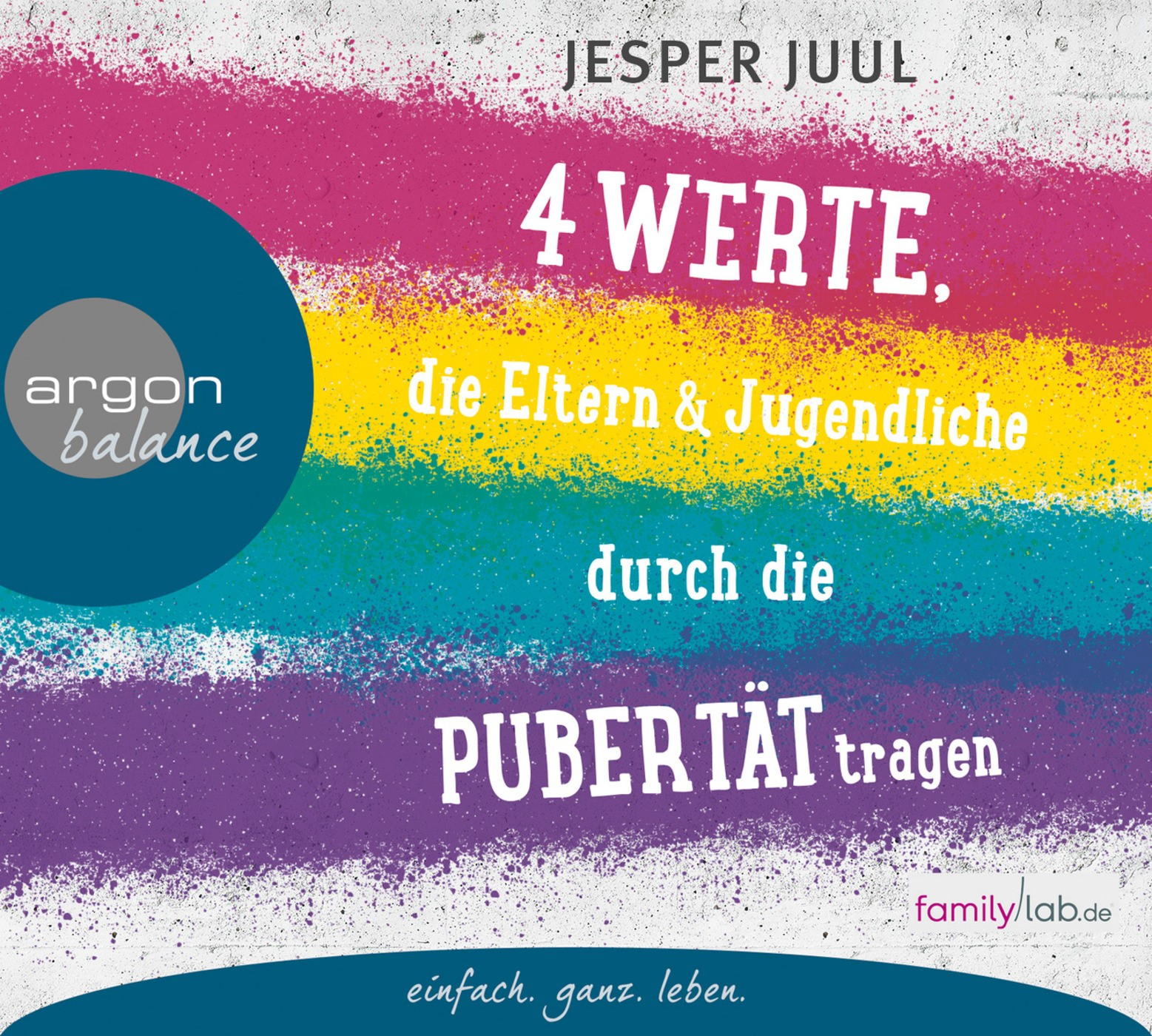 Vier Werte, die Eltern und Jugendliche durch die Pubertät tragen | Juul | 1. Auflage, 2015 (Cover)