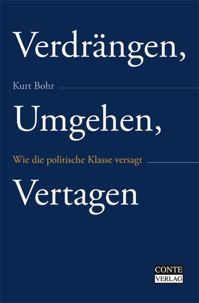 Abbildung von Bohr | Verdrängen, Umgehen, Vertagen | 2008