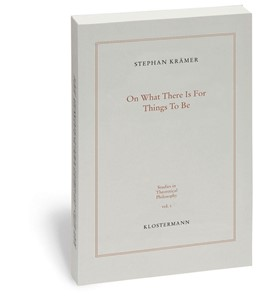 Abbildung von Krämer   On What There Is For Things To Be   1., 2014   2014   Ontological Commitment and Sec...   1
