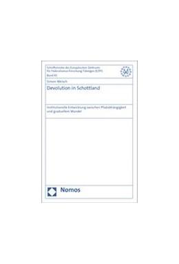 Abbildung von Meisch | Devolution in Schottland | 2014 | Institutionelle Entwicklung zw... | 43