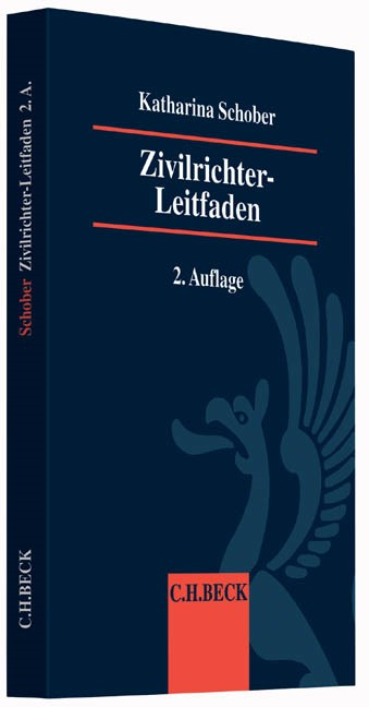 Zivilrichter-Leitfaden | Schober | 2., vollständig überarbeitete Auflage, 2016 | Buch (Cover)