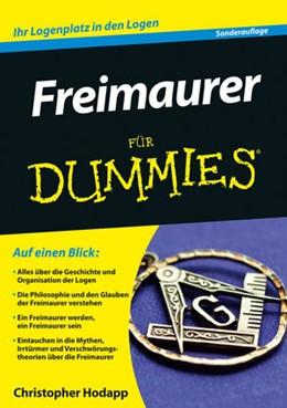 Abbildung von Hodapp   Freimaurer für Dummies   2. aktualisierte Auflage   2014