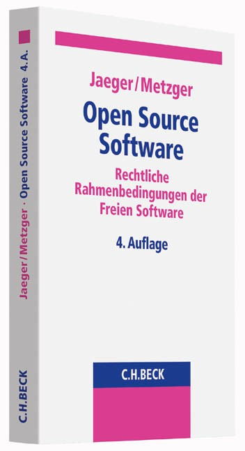 Open Source Software | Jaeger / Metzger | 4. Auflage, 2016 | Buch (Cover)