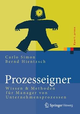 Abbildung von Simon / Hientzsch | Prozesseigner | 1. Auflage | 2014 | beck-shop.de