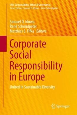 Abbildung von Idowu / Schmidpeter | Corporate Social Responsibility in Europe | 1. Auflage | 2015 | beck-shop.de