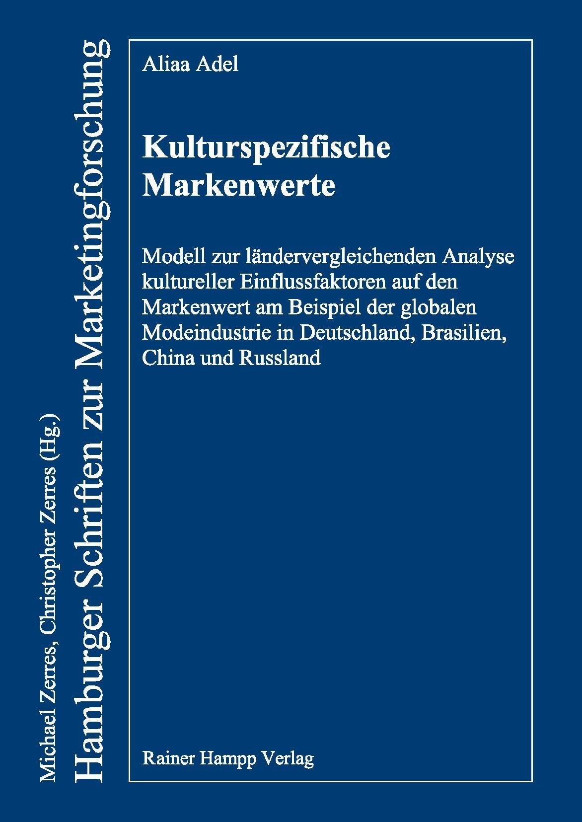 Kulturspezifische Markenwerte | Adel, 2014 | Buch (Cover)