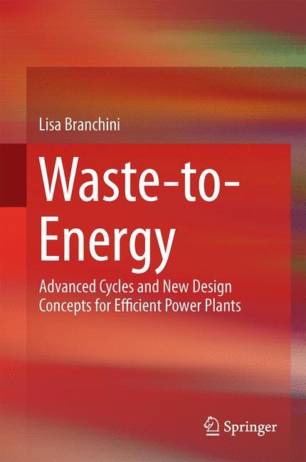 Waste-to-Energy | Branchini, 2015 | Buch (Cover)
