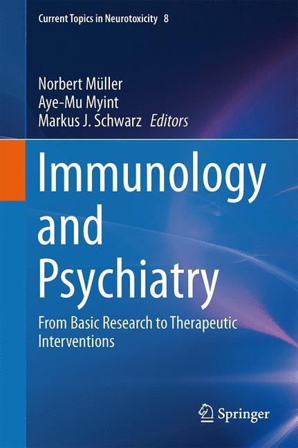 Immunology and Psychiatry | Müller / Myint / Schwarz, 2015 | Buch (Cover)