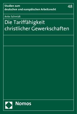 Abbildung von Schmidt   Die Tariffähigkeit christlicher Gewerkschaften   2014   48