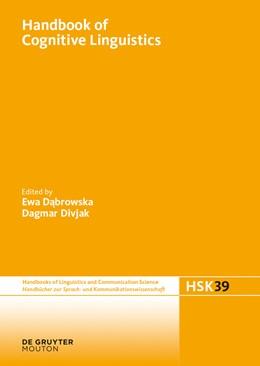 Abbildung von Dabrowska / Divjak | Handbook of Cognitive Linguistics | 2015 | 39