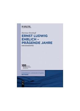 Abbildung von Bomhoff | Ernst Ludwig Ehrlich – prägende Jahre | 2014 | Eine Biographie | 25