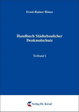 Abbildung von Hönes | Handbuch Städtebaulicher Denkmalschutz | 2015 | 24