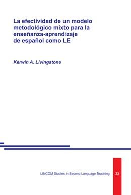 Abbildung von Livingstone | La efectividad de un modelo metodológico mixto para la enseñanza-aprendizaje de español como LE | 2014 | 23