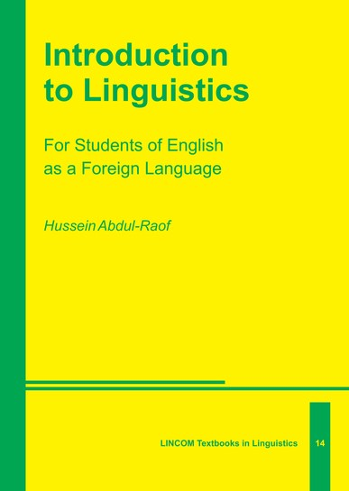 Abbildung von Abdul-Raof | Introduction to Linguistics | 2014