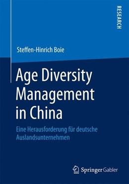 Abbildung von Boie | Age Diversity Management in China | 2014 | 2014 | Eine Herausforderung für deuts...