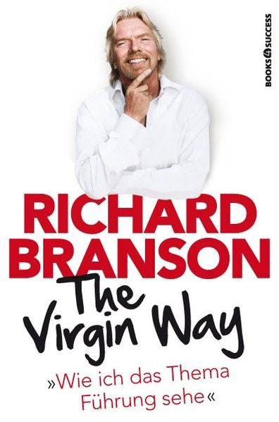 The Virgin Way | Branson, 2015 | Buch (Cover)