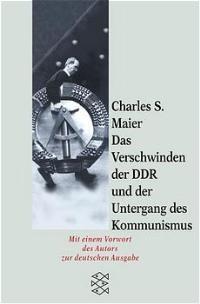 Das Verschwinden der DDR und der Untergang des Kommunismus   Maier, 2000   Buch (Cover)