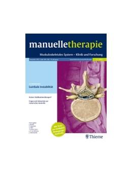 Abbildung von manuelletherapie | 24. Jahrgang | 2020 | Muskuloskeletales System - Kli...