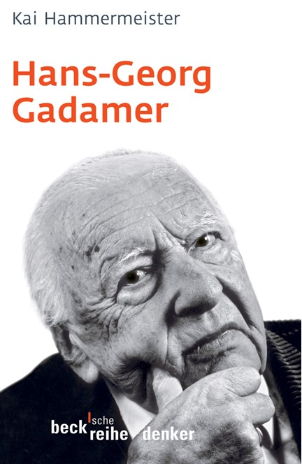 Cover: Kai Hammermeister, Hans-Georg Gadamer
