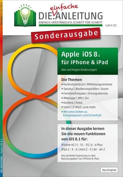 DIE.ANLEITUNG - Sonderausgabe für iOS 8 . iPhone und iPad | Oestreich, 2014 | Buch (Cover)