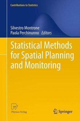 Abbildung von Montrone / Perchinunno | Statistical Methods for Spatial Planning and Monitoring | 1. Auflage | 2012 | beck-shop.de
