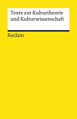 Abbildung von Borgards   Texte zur Kulturtheorie und Kulturwissenschaft   2010   18715