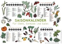 Abbildung von Henriquez   Saisonkalender für Obst, Gemüse und Salat   1. Auflage   2015   beck-shop.de