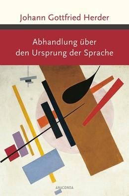 Abbildung von Herder | Abhandlung über den Ursprung der Sprache | 1. Auflage | 2015 | beck-shop.de