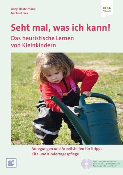 Seht mal, was ich kann! Lern- und Spielanlässe für Kinder unter 3 | Bostelmann / Fink, 2012 | Buch (Cover)