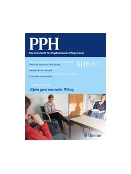 Abbildung von PPH | 25. Jahrgang | 2019 | Die Zeitschrift für Pflegeprax...