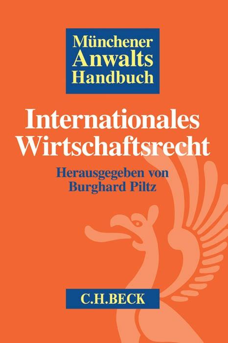 Münchener Anwaltshandbuch Internationales Wirtschaftsrecht, 2016 | Buch (Cover)