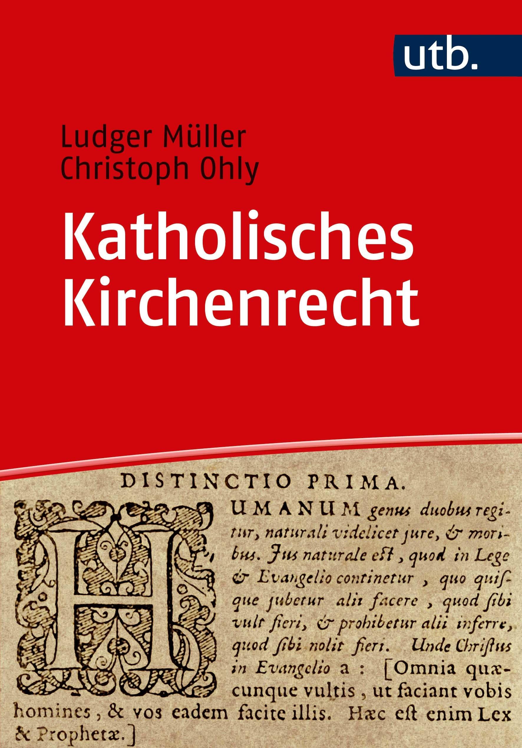 Abbildung von Ohly / Müller | Katholisches Kirchenrecht | 2018