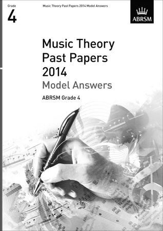 Music Theory Past Papers 2014 Model Answers, ABRSM Grade 4 | ABRSM, 2015 (Cover)