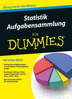 Aufgabensammlung Statistik für Dummies, 2016 | Buch (Cover)