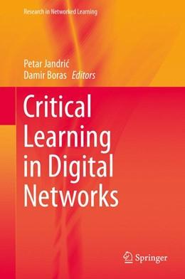 Abbildung von Jandric / Boras   Critical Learning in Digital Networks   1. Auflage   2015   beck-shop.de