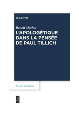 Abbildung von Mathot | L'apologétique dans la pensée de Paul Tillich | 2015 | 6