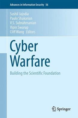 Abbildung von Jajodia / Shakarian | Cyber Warfare | 1. Auflage | 2015 | 56 | beck-shop.de