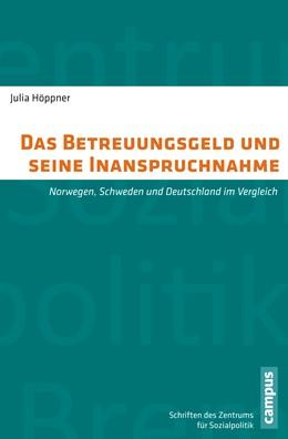 Abbildung von Höppner | Das Betreuungsgeld und seine Inanspruchnahme | 2015 | Norwegen, Schweden und Deutsch... | 27