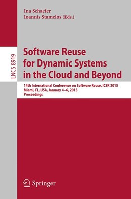 Abbildung von Schaefer / Stamelos | Software Reuse for Dynamic Systems in the Cloud and Beyond | 2014 | 14th International Conference ... | 8919